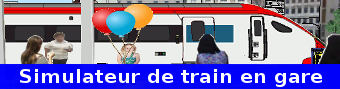 Le jeu de simulation de train